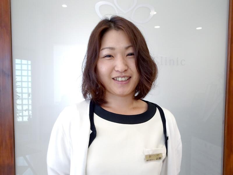 一宮市のインプラントクリニック・オーキッド歯科の歯科衛生士「近藤」